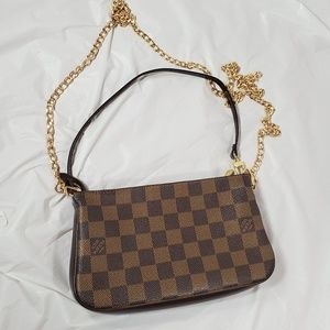 Authentic LV Navona Pochette Accessories